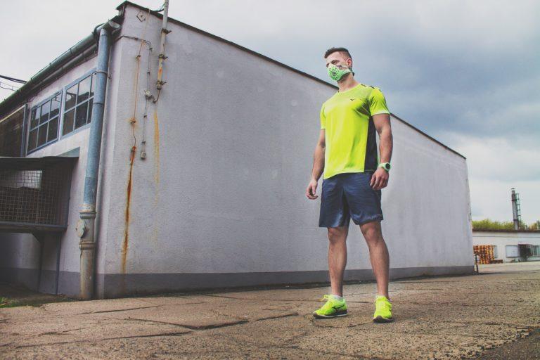 maska antysmogowa biegacz