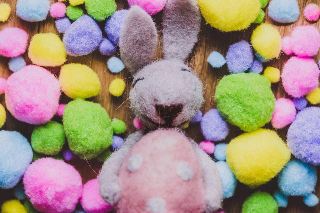 śląska wielkanoc królik jajka