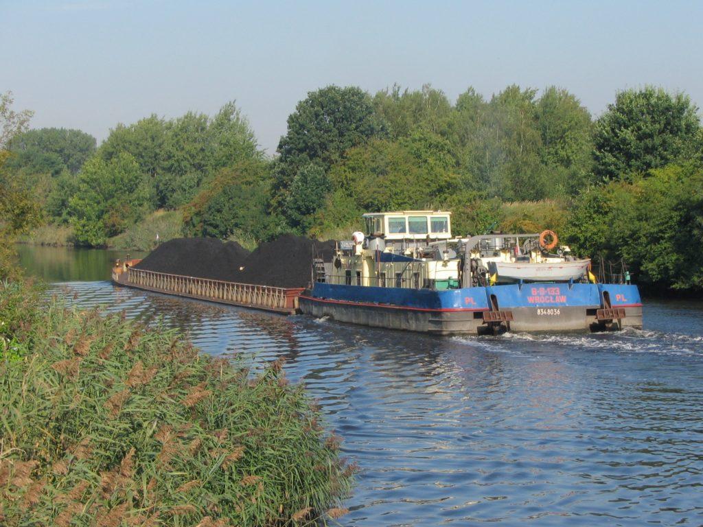barka na kanale gliwickim