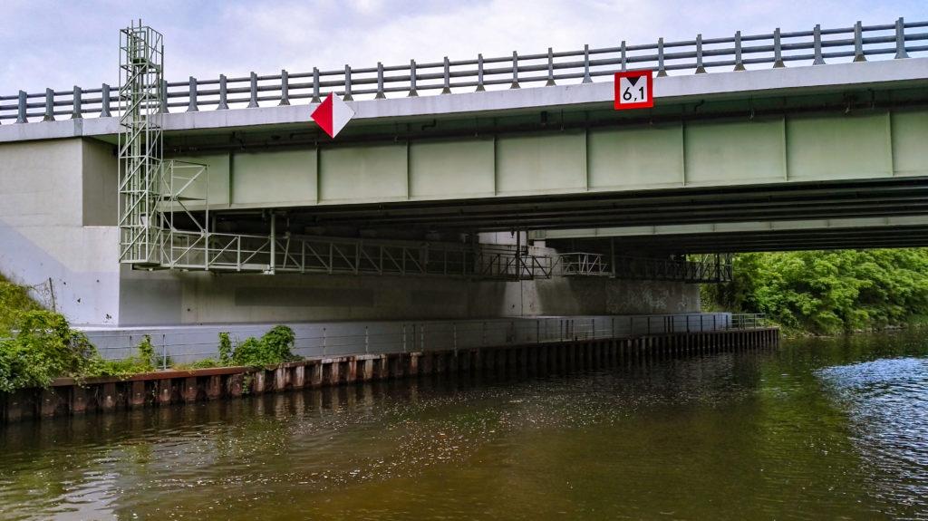 most nad kanałem gliwickim