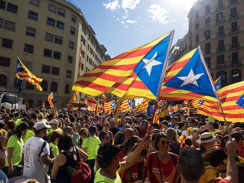 Katalońska manifestacja